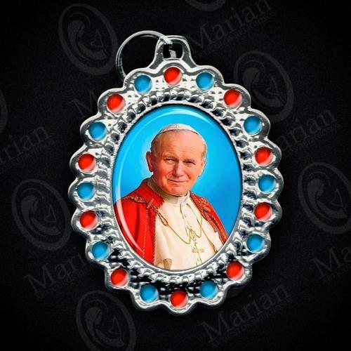 medalla de santos decorada 6 piezas  $65.00