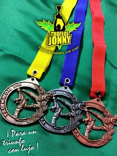 medalla de tae kwon do