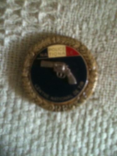 medalla de tiro de la policía de francia