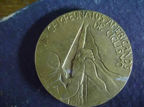 medalla de vii campeonato ciclismo