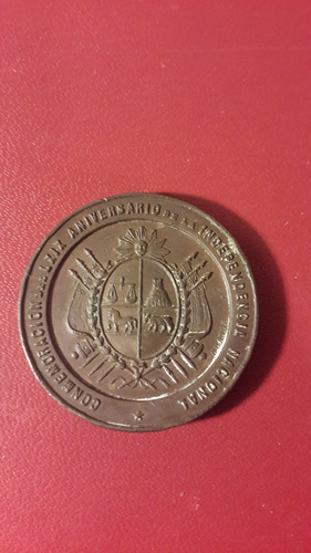 medalla declaratoria independencia 1894,  mt166
