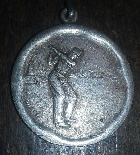 medalla del golf de san isidro