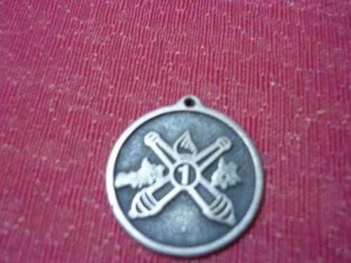 medalla del grupo de artilleria nº 1 - 19 marzo de 1867
