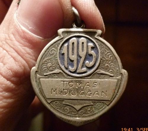 medalla del jockey club de buenos aires,tomas m.duggan1925