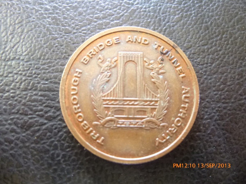 medalla del puente triborough