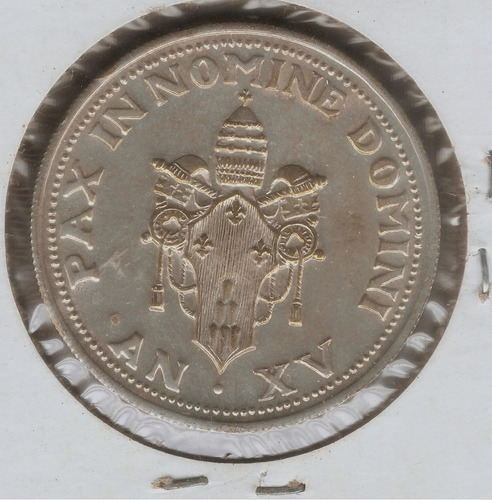 medalla del vaticano