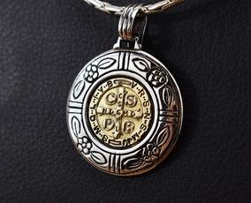 341d0355702 Medalla San Benito Oro Blanco en Mercado Libre Argentina