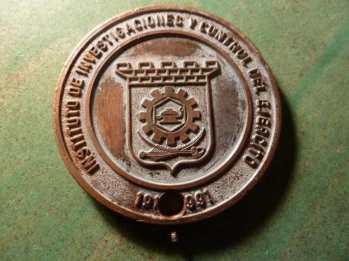 medalla ejercito instituto de investigaciones - vp