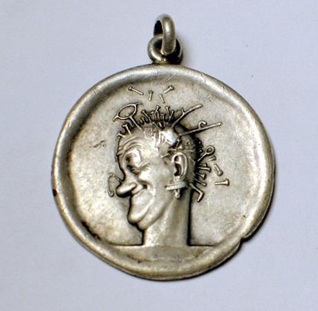 medalla en plata pura de  geniol