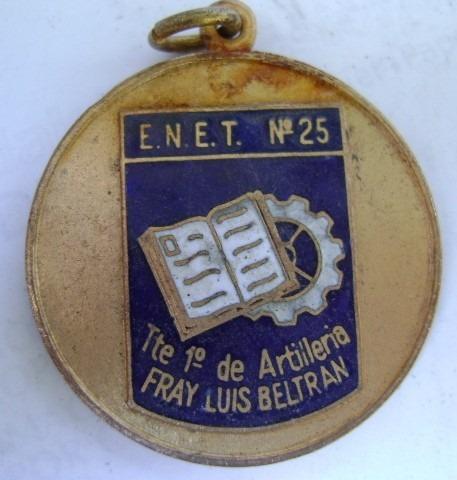 medalla enet 25