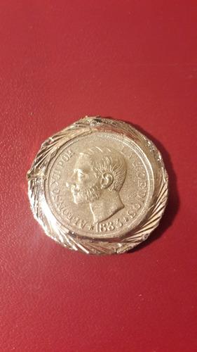 medalla españa con moneda, mt203
