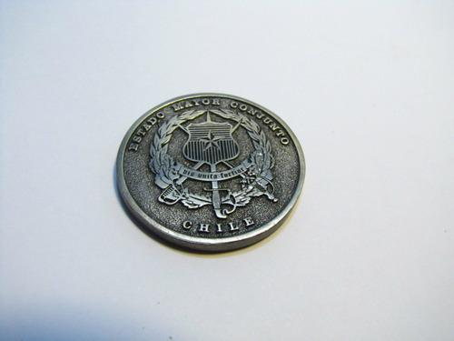 medalla estado mayor conjunto. fuerzas armadas chile