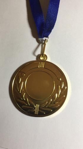 medalla evento deportivo logo futbol 5.0cmx2.5mm,con cinta