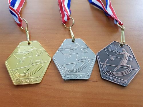medalla futbol 50mm