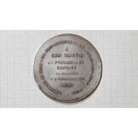 Medalla General San Martin Libertador De Chile Y Del Peru Pl