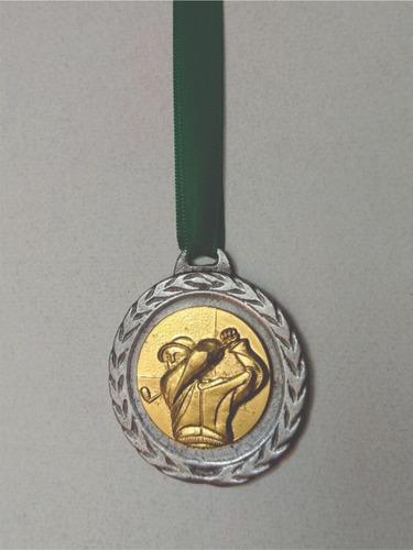 medalla golf especial 50 mm