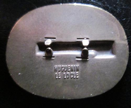 medalla guerra condecoración suiza año1940 huguenin le locle