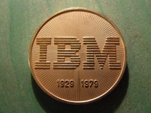 medalla ibm chile recuerdo del cincuentenario - vp