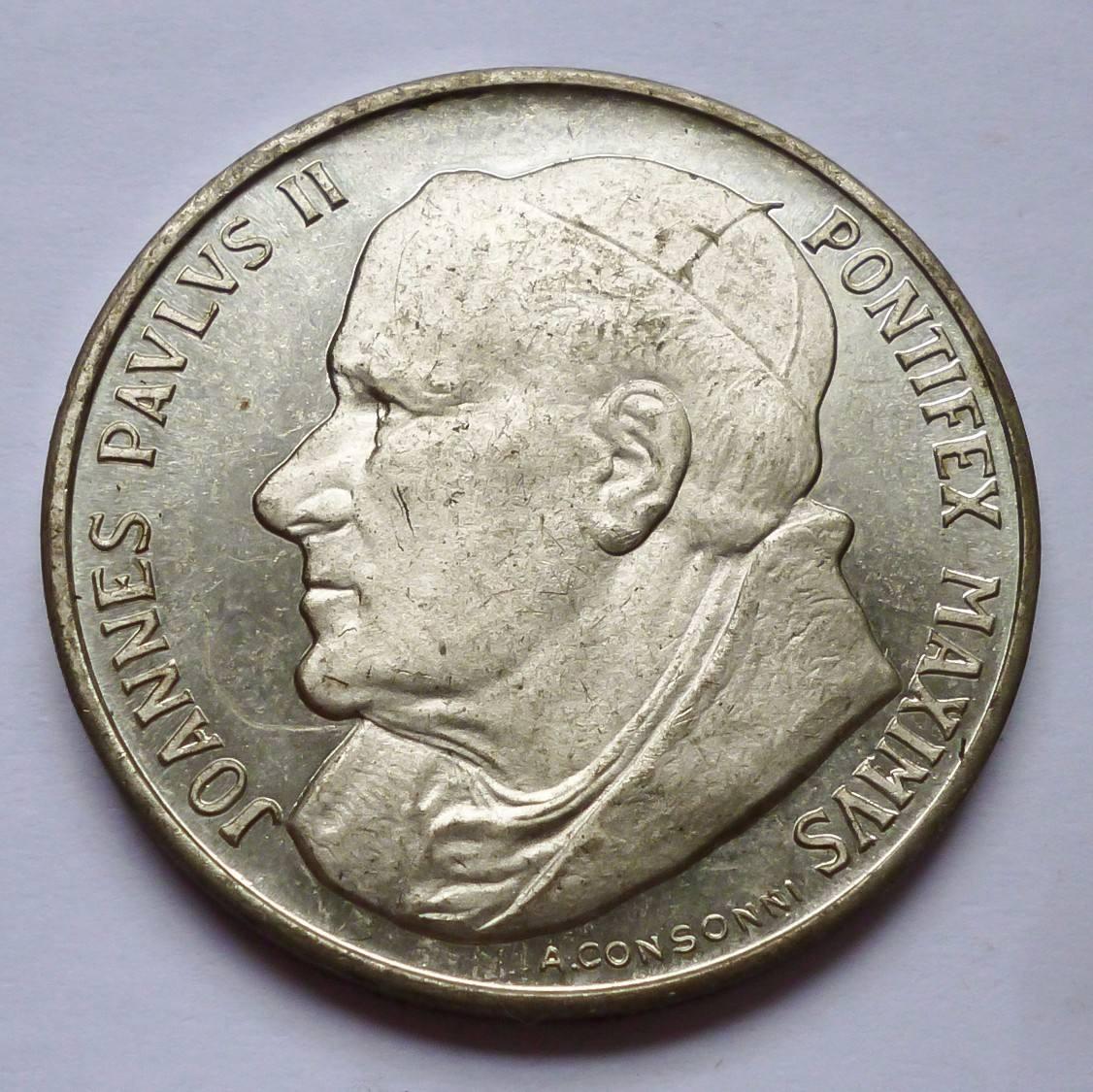 99786c9a9b5 medalla italia juan pablo ii papa 2000 año santo. Cargando zoom.