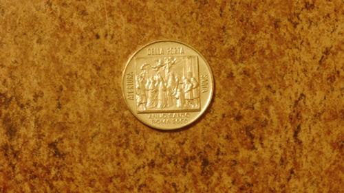 851cfdb35a6 medalla italia juan pablo ii - papa - roma - 2000. Cargando zoom.