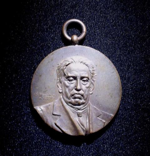 medalla - jose batlle y ordoñes - 1916