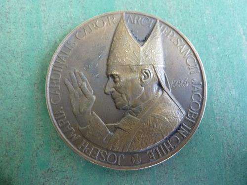 medalla jose maria caro 1er cardenal de chile - vp