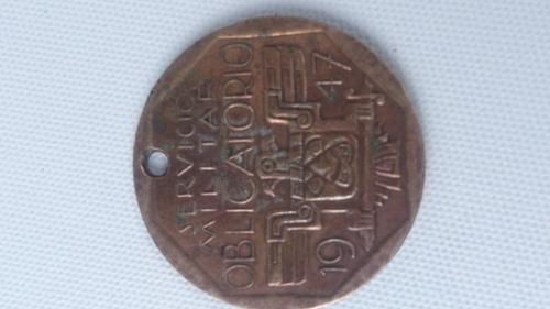 medalla militar peru 1947. lealtad honor patrio.. lima