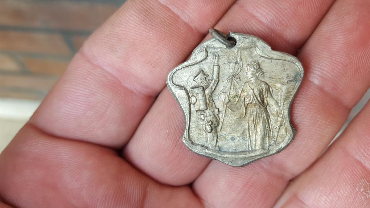 Medalla Ministerio De Guerra General 27 Mayo 1908