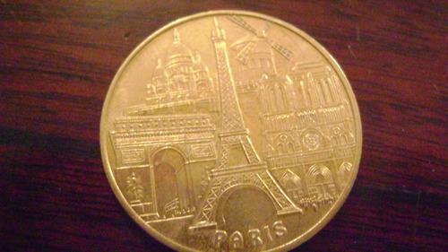 medalla moneda coleccionable