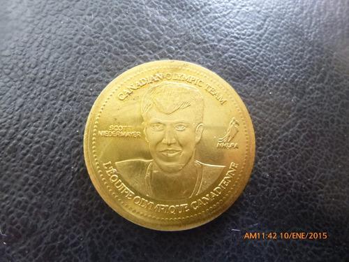 medalla olimpiadas canada scott niedermayer 2002 coca co(d49