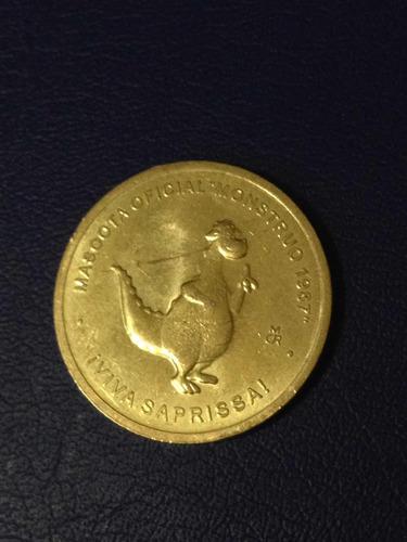medalla original deportivo saprissa jmg