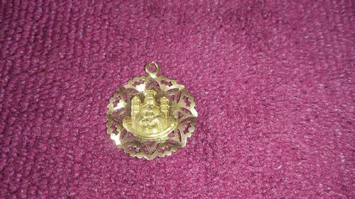 medalla oro 18 / 2,1 gr. a 33,50 v. coromoto patrona  vzla