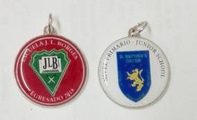1971be6a1d8a Medalla Personalizada 30mm Con Argolla Egresado Resinada