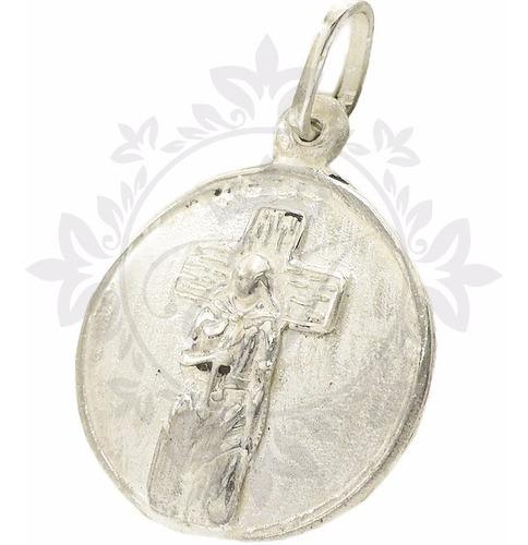 medalla plata 925 gauchito gil hombre mujer oferta