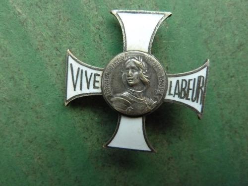 medalla premio al trabajo juana de arco - vp