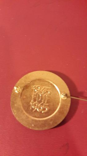 medalla prendedor fdil, fotos, 1965, mt149