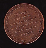 medalla prof. dr. carlos e. porter - zoologo - 1896-1936