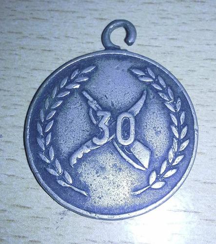 medalla regimiento de monte 30
