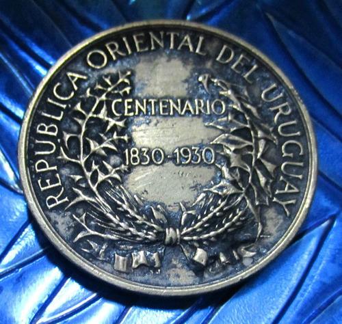 medalla república oriental del uruguay  1830-1930