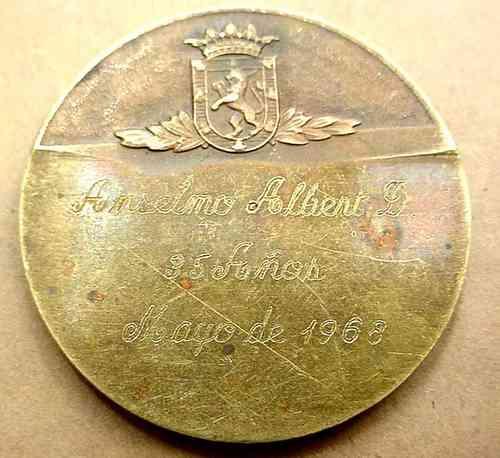 medalla   rotary club de santiago
