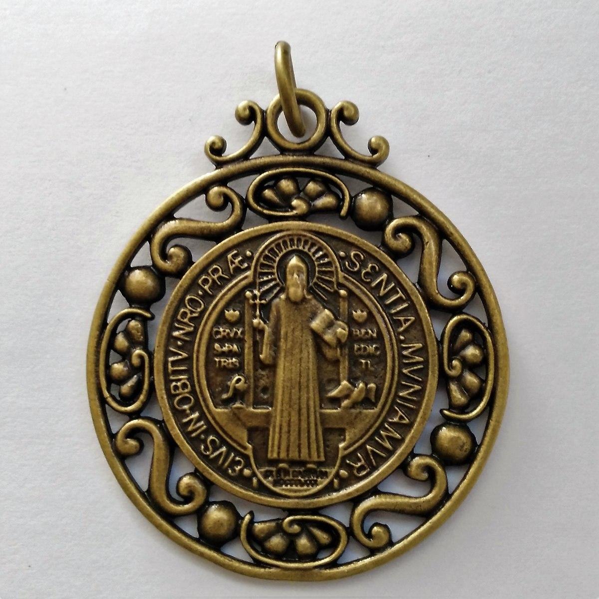 d1bda393d5a medalla san benito extra grande acabado colonial antigua. Cargando zoom.