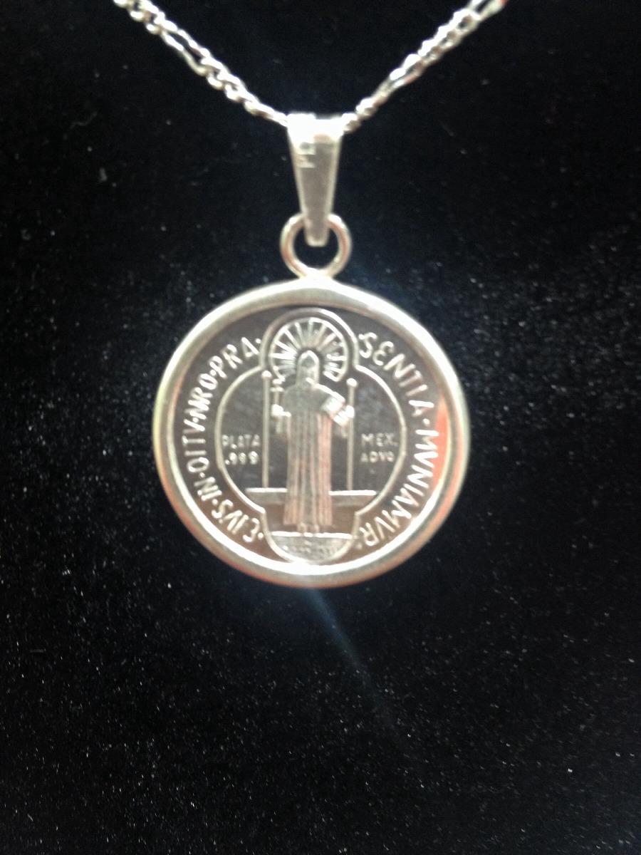 97367edc996 Medalla San Benito Plata .999 26mm -   460.00 en Mercado Libre