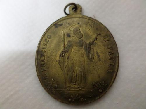 medalla san francisco di padua olivieri