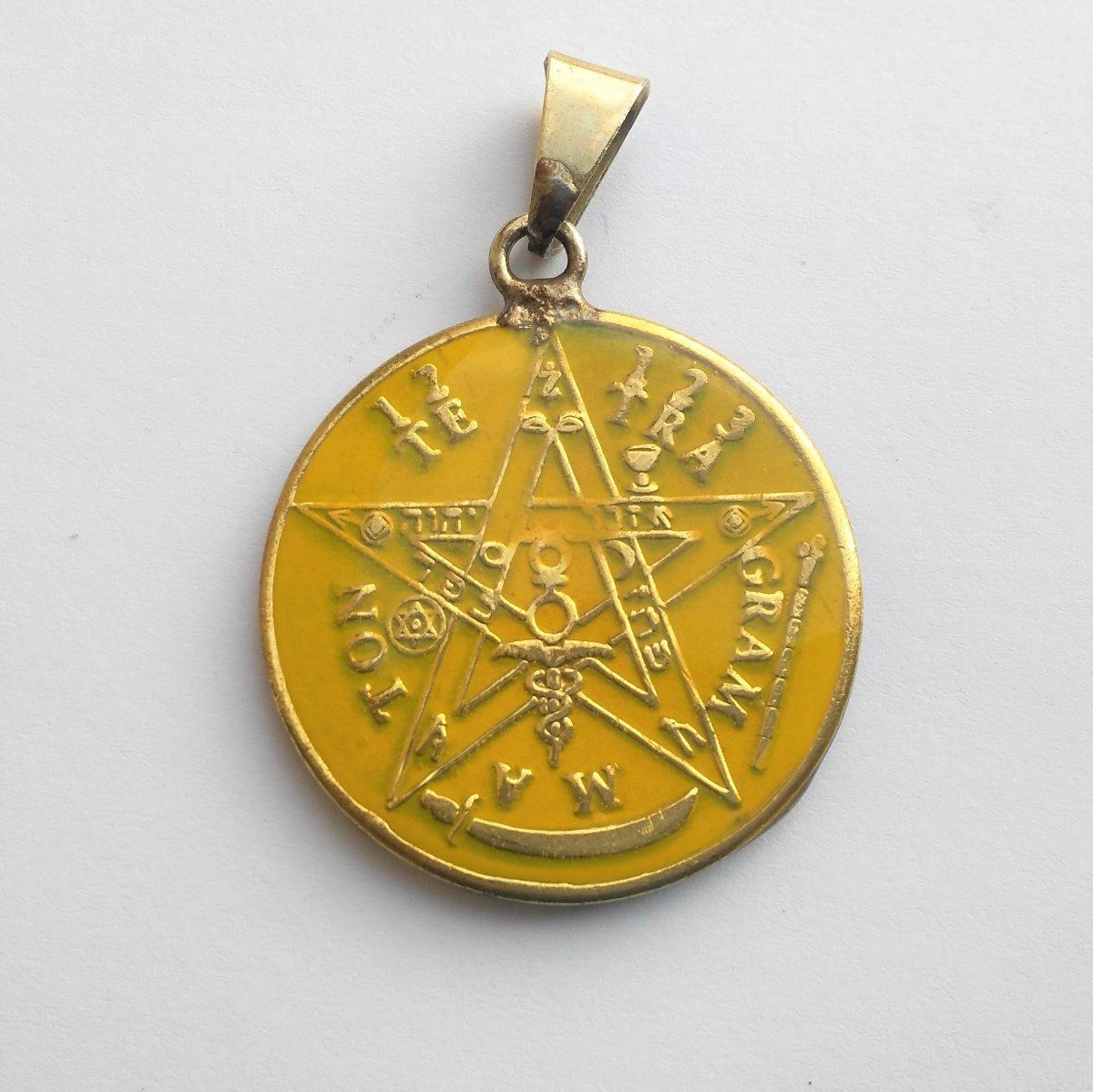 Medalla San Judas Tadeo Detallado Forjado Y Pintado A Mano