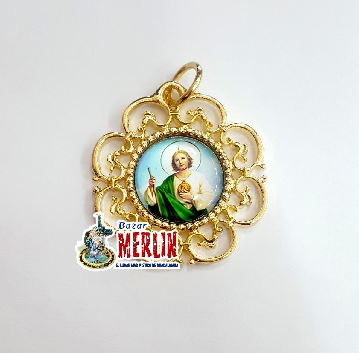 Medalla San Judas Tadeo Fina Chapa De Oro 39000 En Mercado Libre
