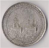 medalla san martin o higgins pactiones argen. chilenses 1902