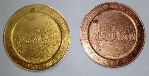 medalla sesquicentenario batalla naval del lago de maracaibo