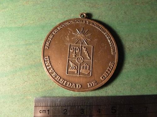 medalla universidad de chile fac. cs economicas - vp