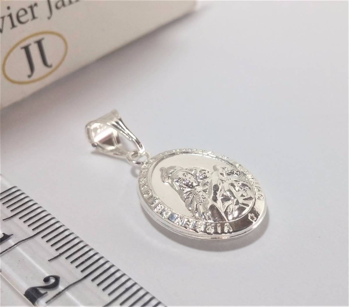 1bbd46e716e medalla virgen del carmen   sagrado corazon plata ley 925. Cargando zoom.