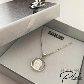 cbf802dd2ab7 Medalla Virgen Niña Plata en Mercado Libre Argentina